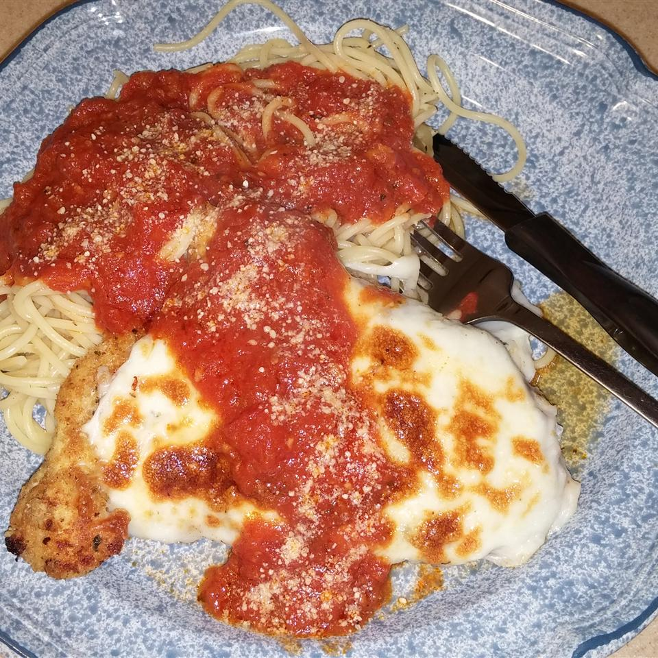 Simple Chicken Parmesan