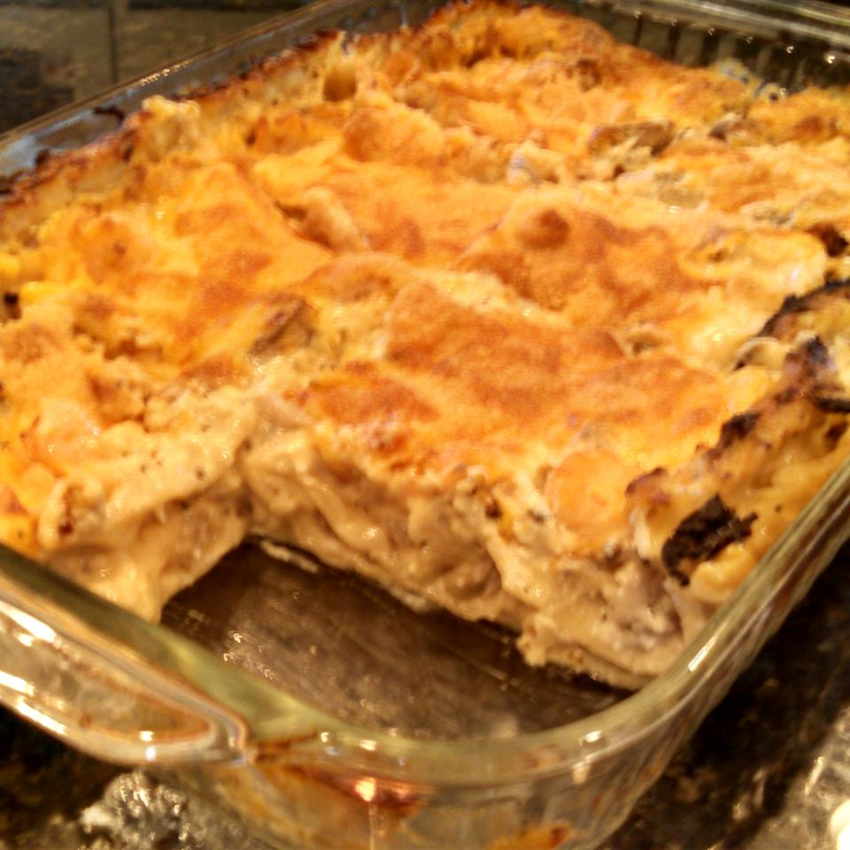 Aunty Pasto's Seafood Lasagna YearnForTheBurn