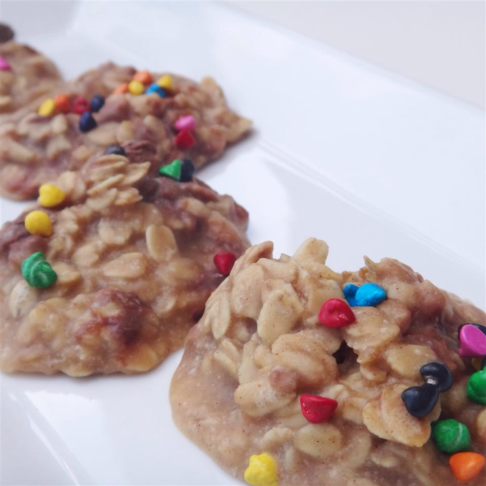 No-Bake Peanut Butter Oatmeal Cookies House of Aqua