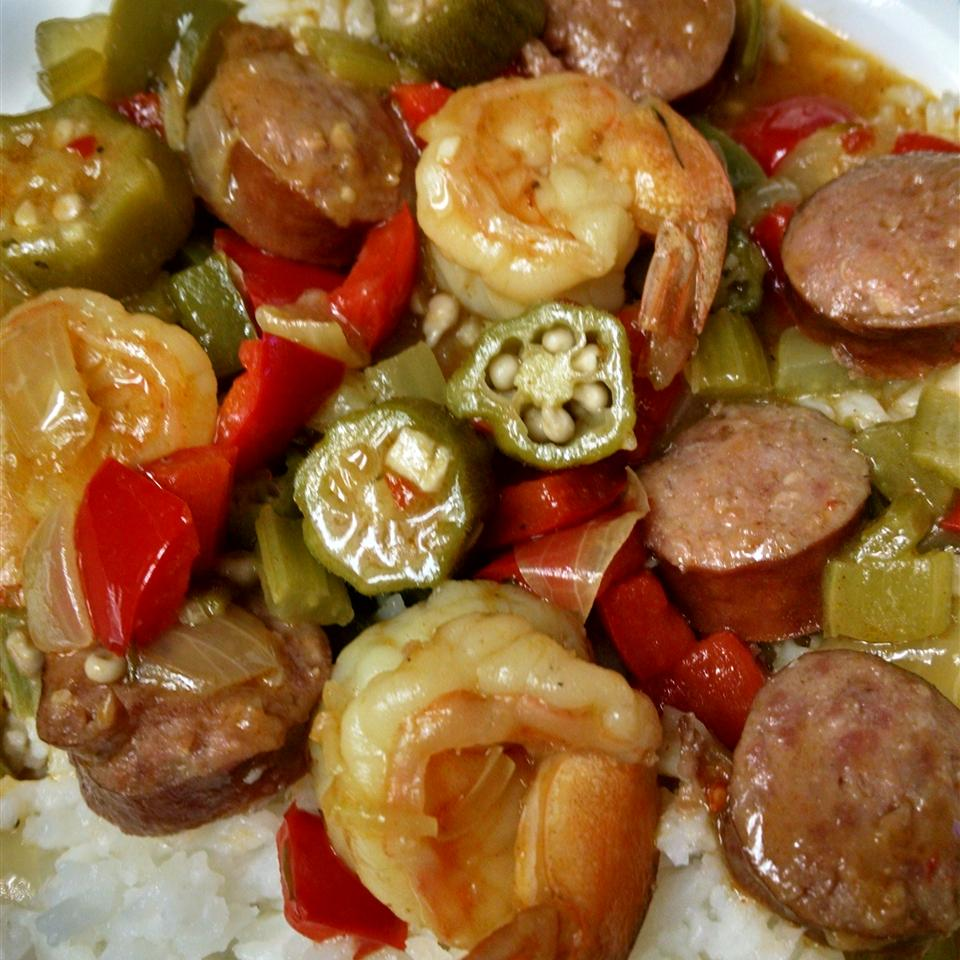 Sausage and Shrimp Gumbo Valery Viacara-Sismondo