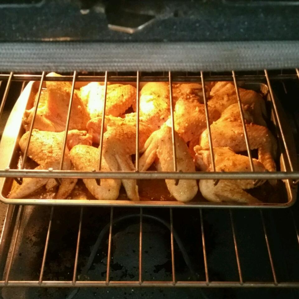 Baked Chicken Wings Layton V.