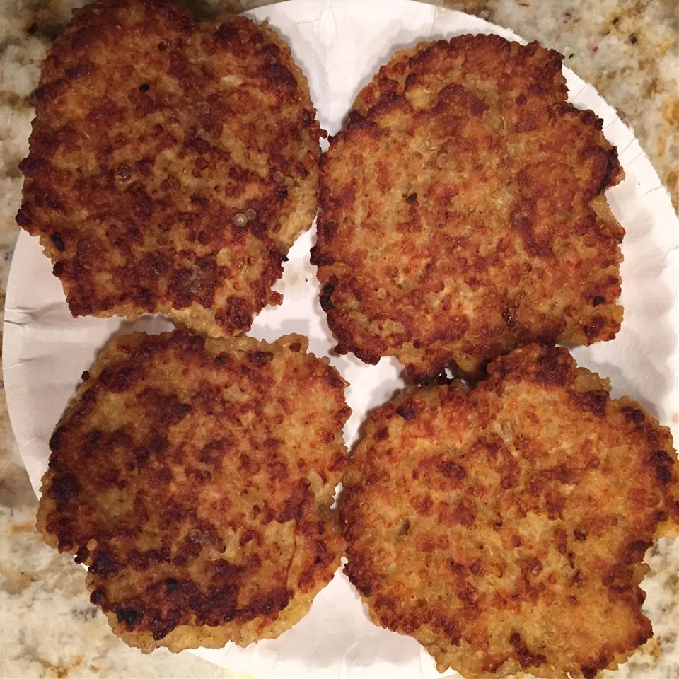 Quinoa Burgers Kelly Bardier