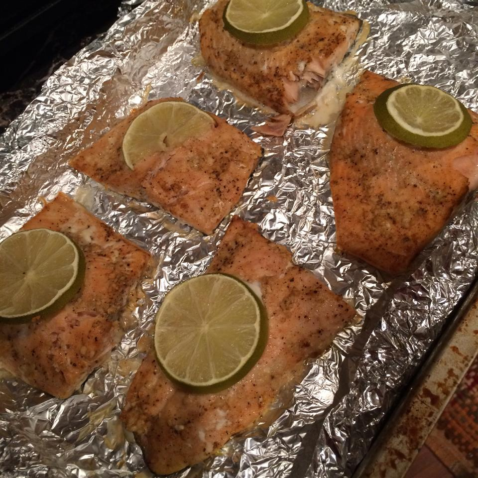Ginger and Lime Salmon alejandra