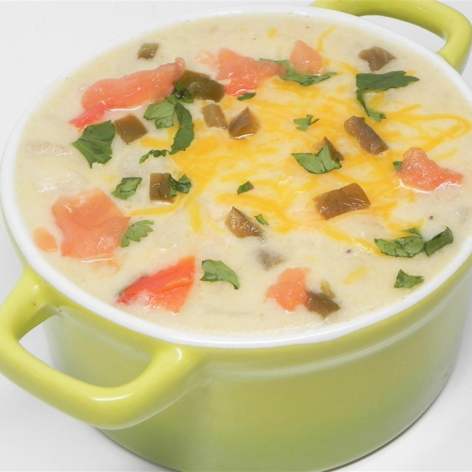 luscious potato soup recipe
