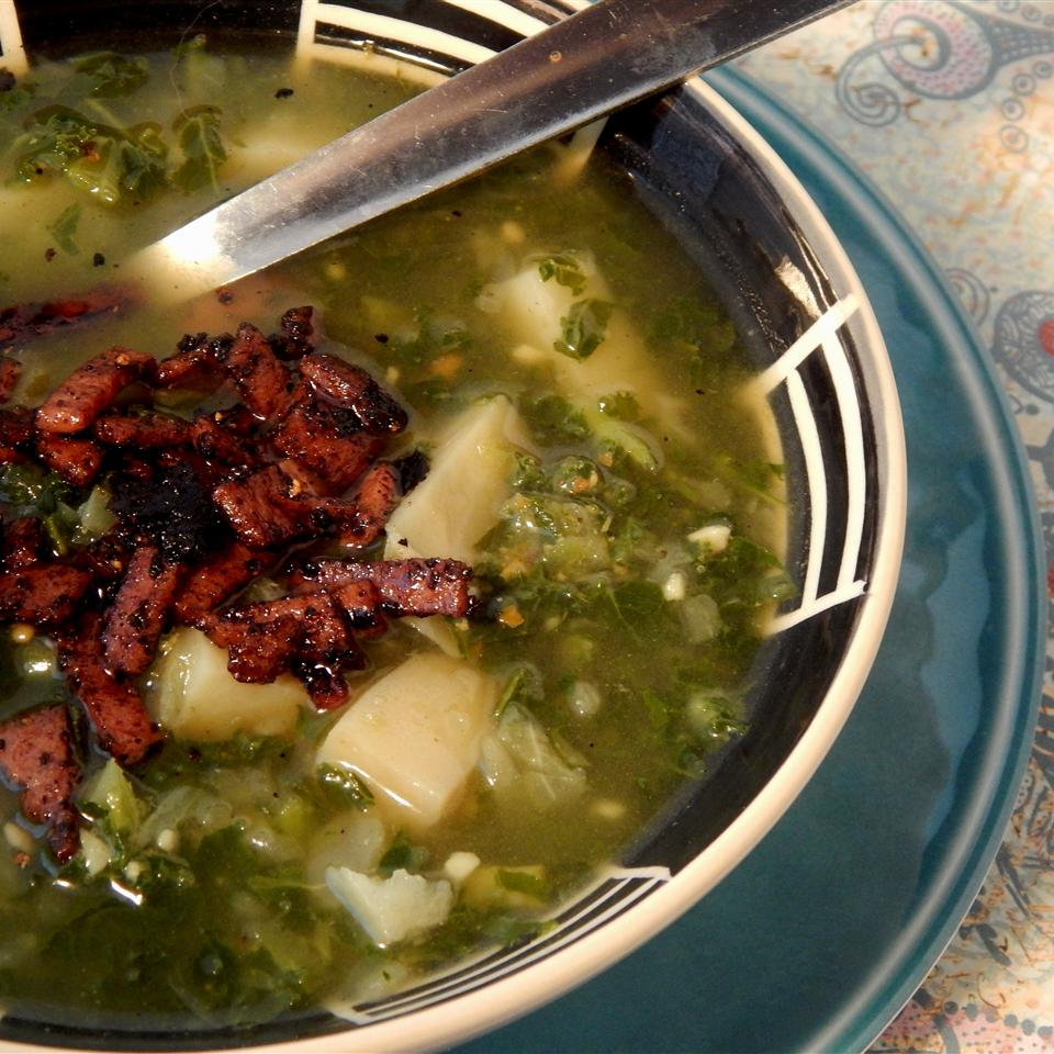 Chilled Kale and Potato Soup