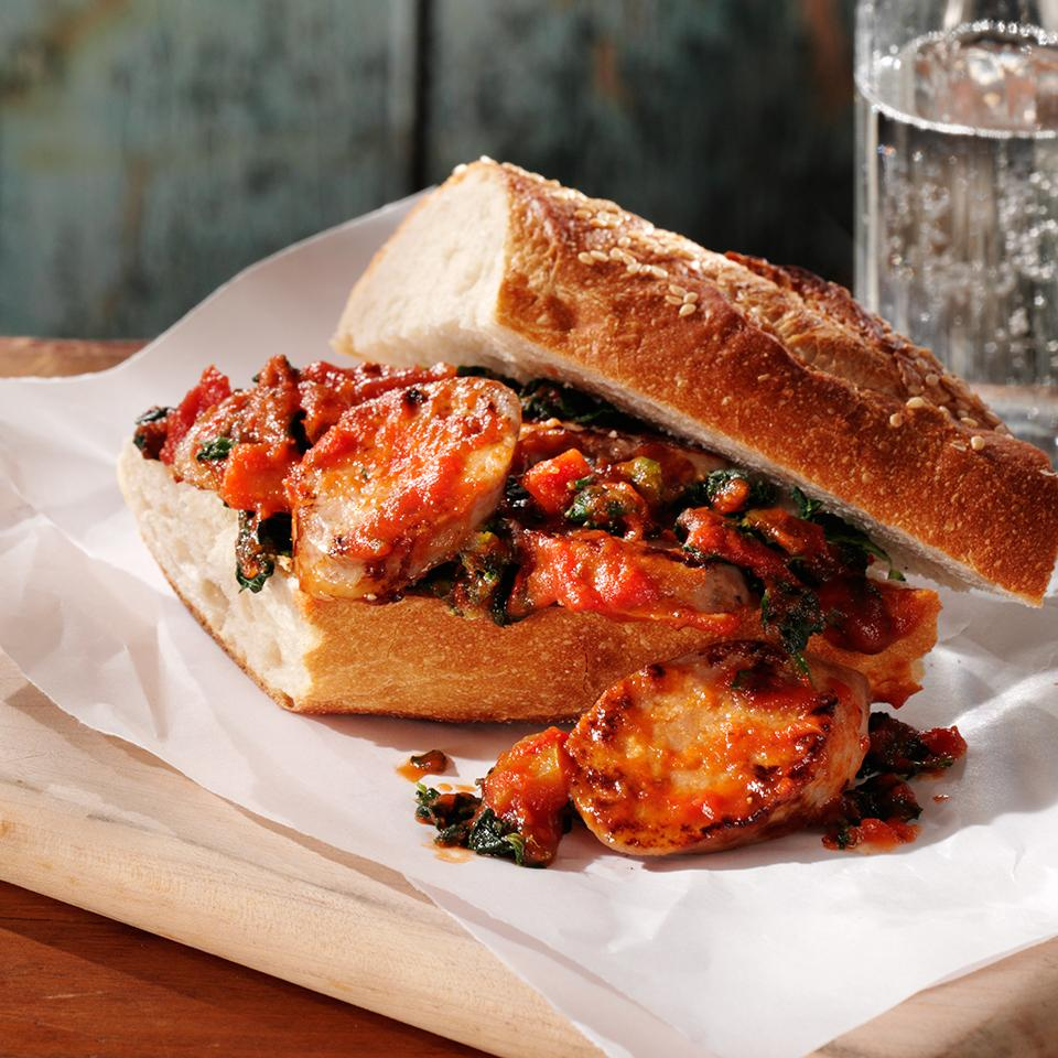 Tuscan-Style Sausage Sandwiches Trusted Brands