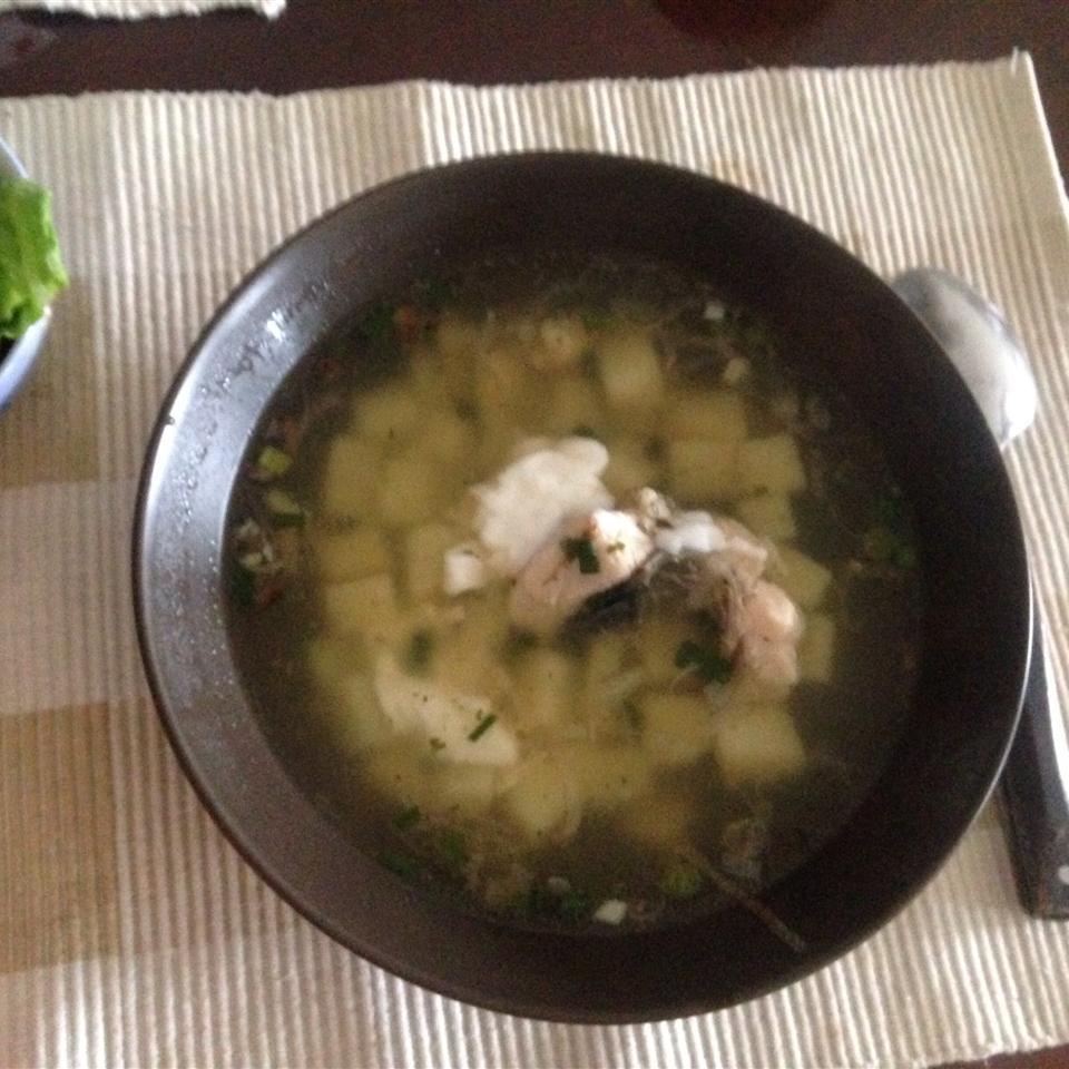 Ukha (Russian Fish Soup)