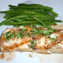 Halibut with Rice Wine Fit&Healthy Mom