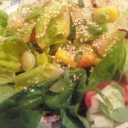 Strawberry-Mango Mesclun Salad Chef4Six