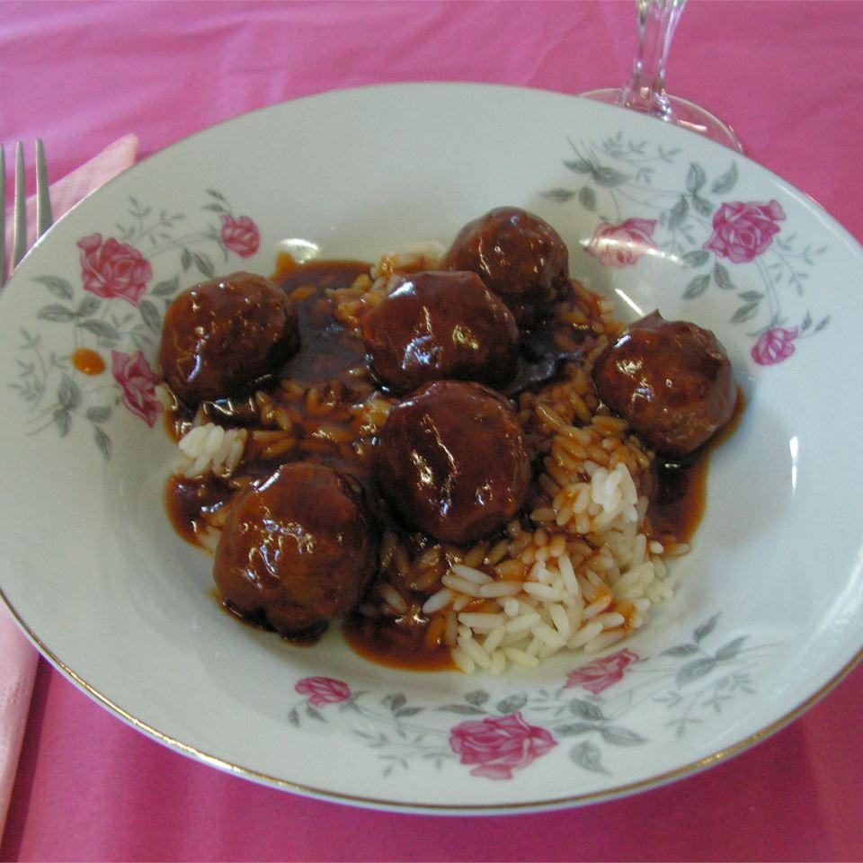 Sweet and Sour Meatballs II ChickadeeD