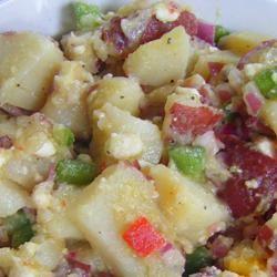 Mediterranean Potato Salad sparklyspatula