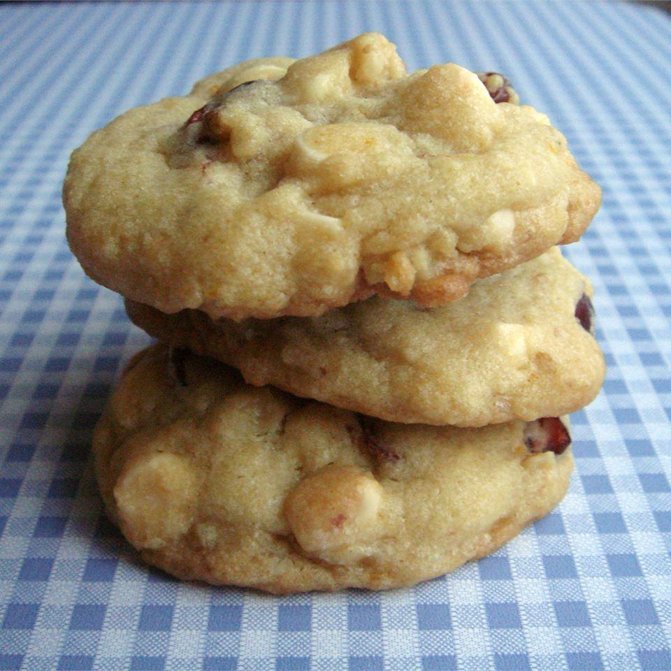 White Chocolate Orange Cookies