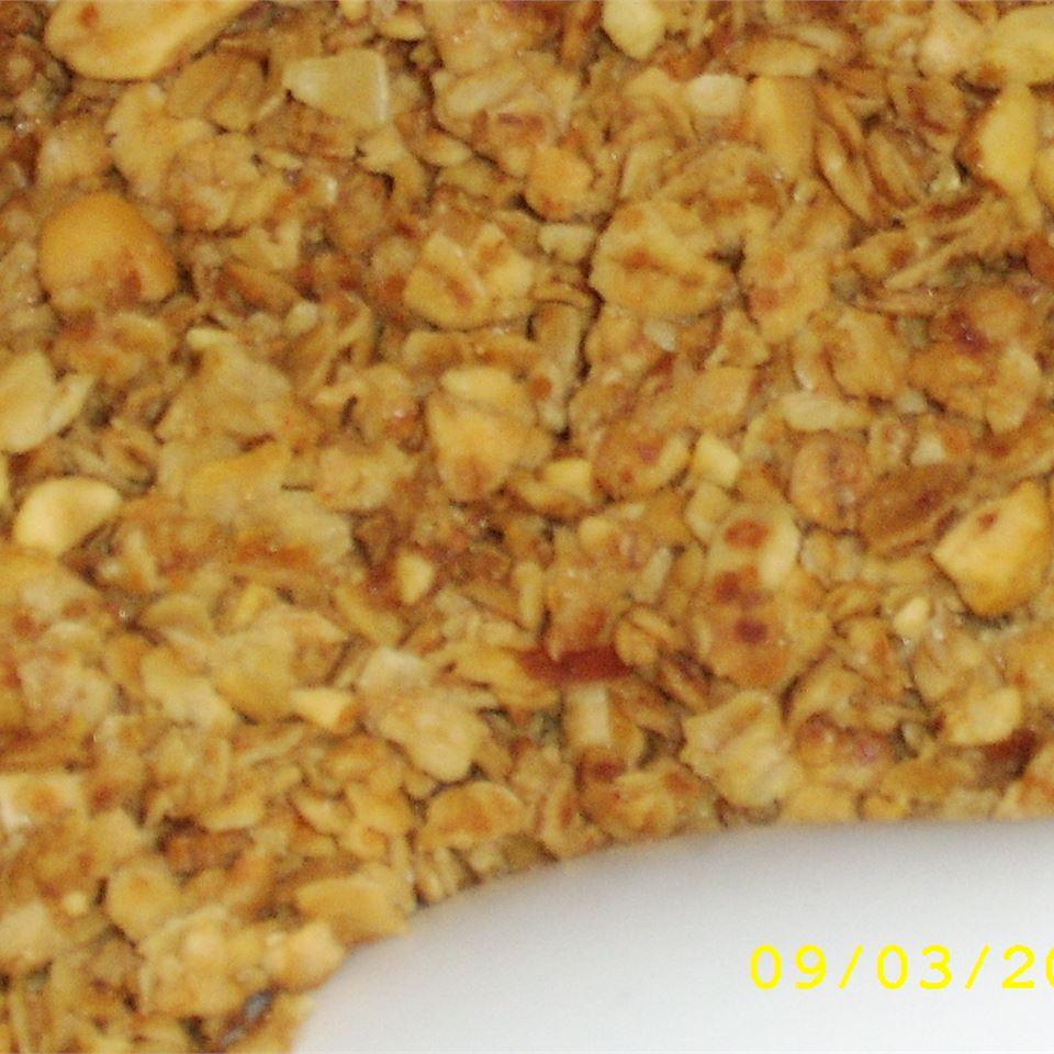 Honey Peanut Granola Caren J