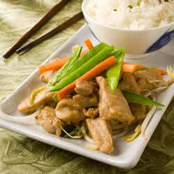 Stir-Fry Pork with Ginger Trusted Brands