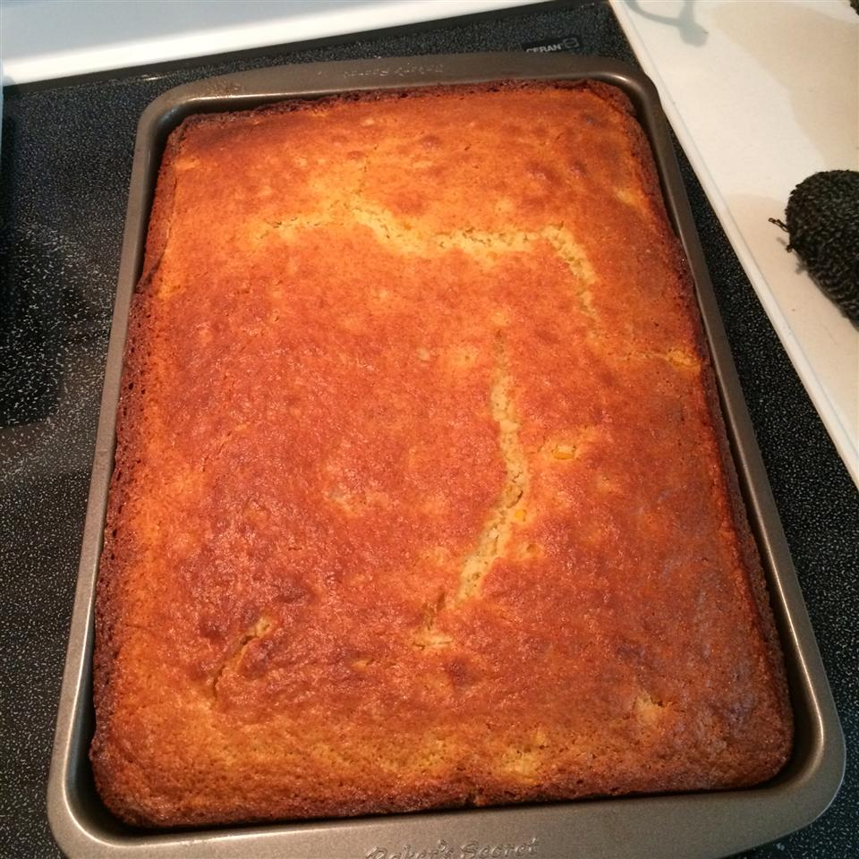 Sweet Cornbread Cake Heidi