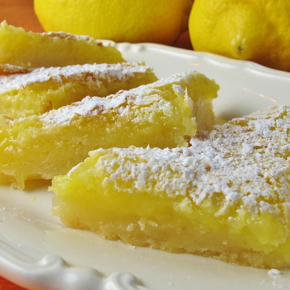Luscious Lemon Triangles