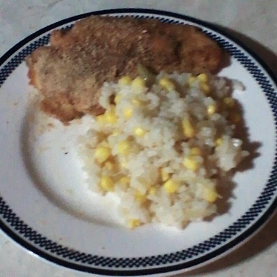 Rice and Corn Side Dish