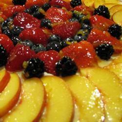 Fancy Fruit Pizza BLONDIENEG