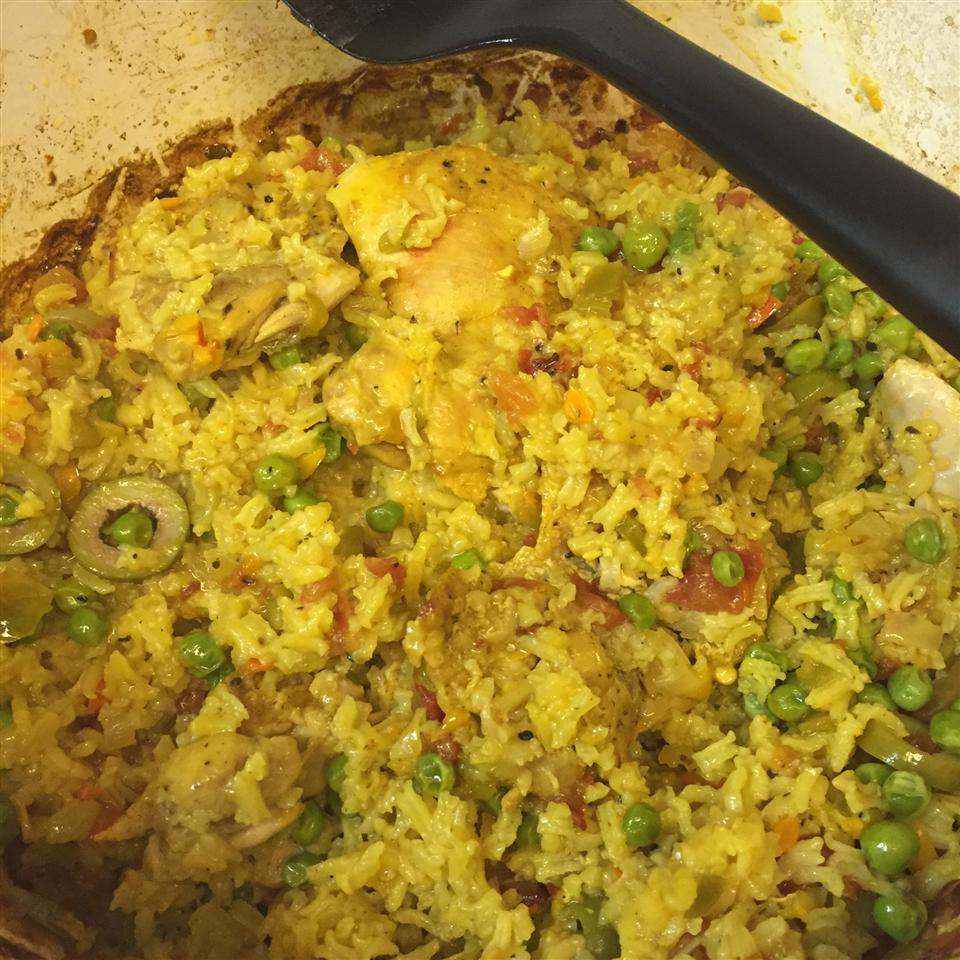 Chicken with Rice (Arroz con Pollo) STARKRAZI