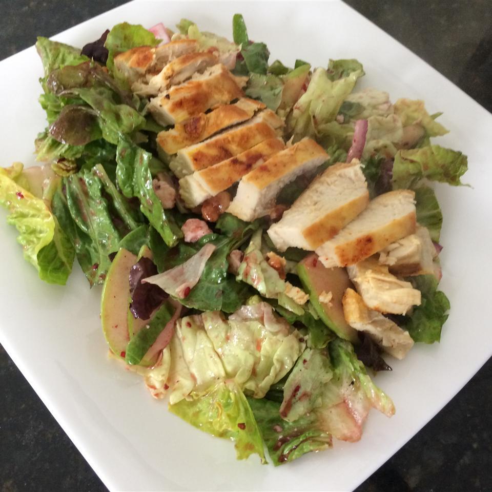 Sweet Apple-Walnut Chicken Salad