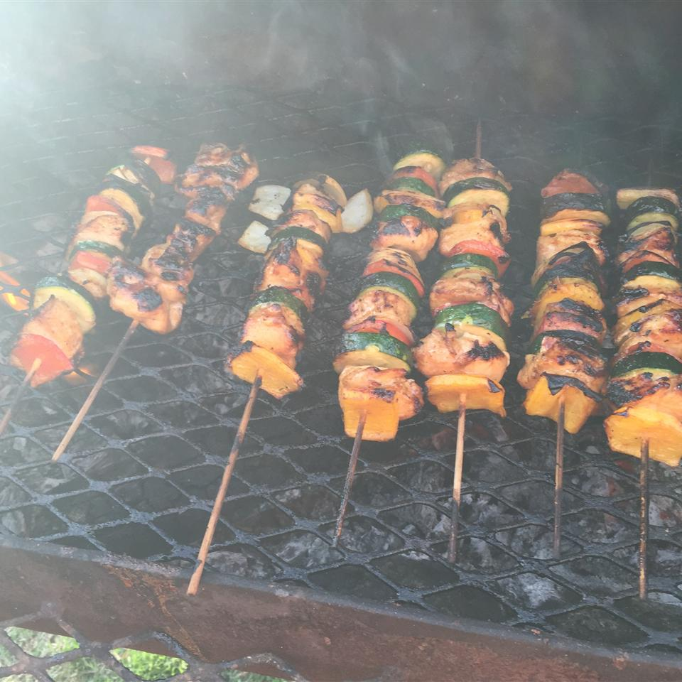 Yummy Honey Chicken Kabobs Melissa H Ureste