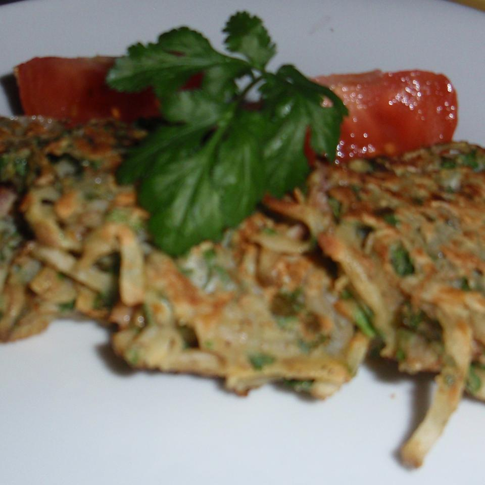 Potato Pancakes with an Eastern Twist - Gluten-Free