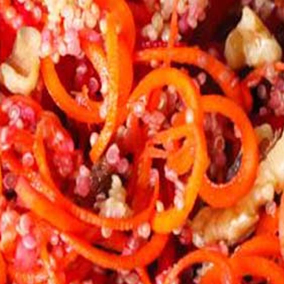 Carrot Citrus Salad ELLE NOUR