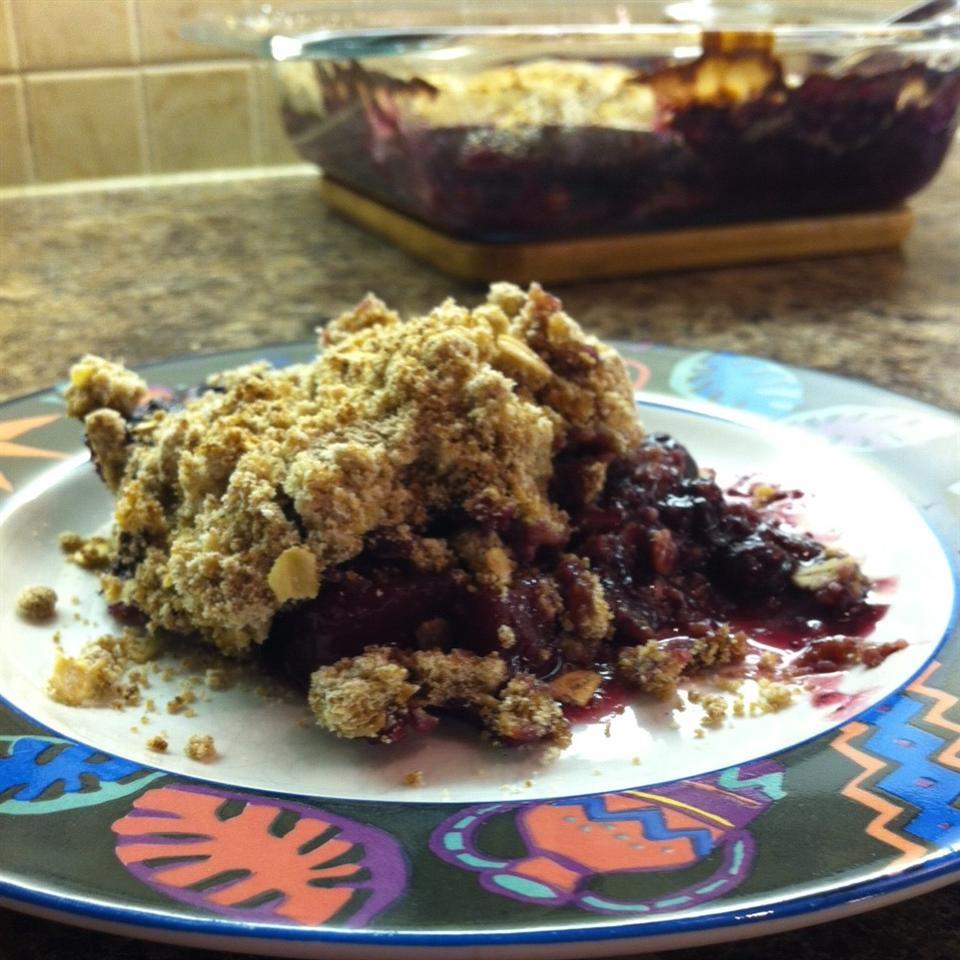 Blueberry Crunch Francine Lizotte Club Foody