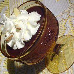 Chocolate Almond Pudding