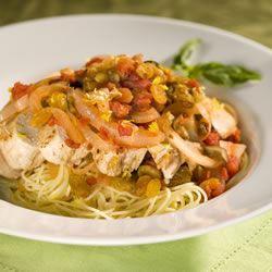 Sicilian Lemon Chicken with Raisin-Tomato Sauce Larry Elder