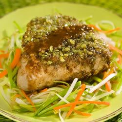 Wasabi Encrusted Tuna Steaks Trusted Brands
