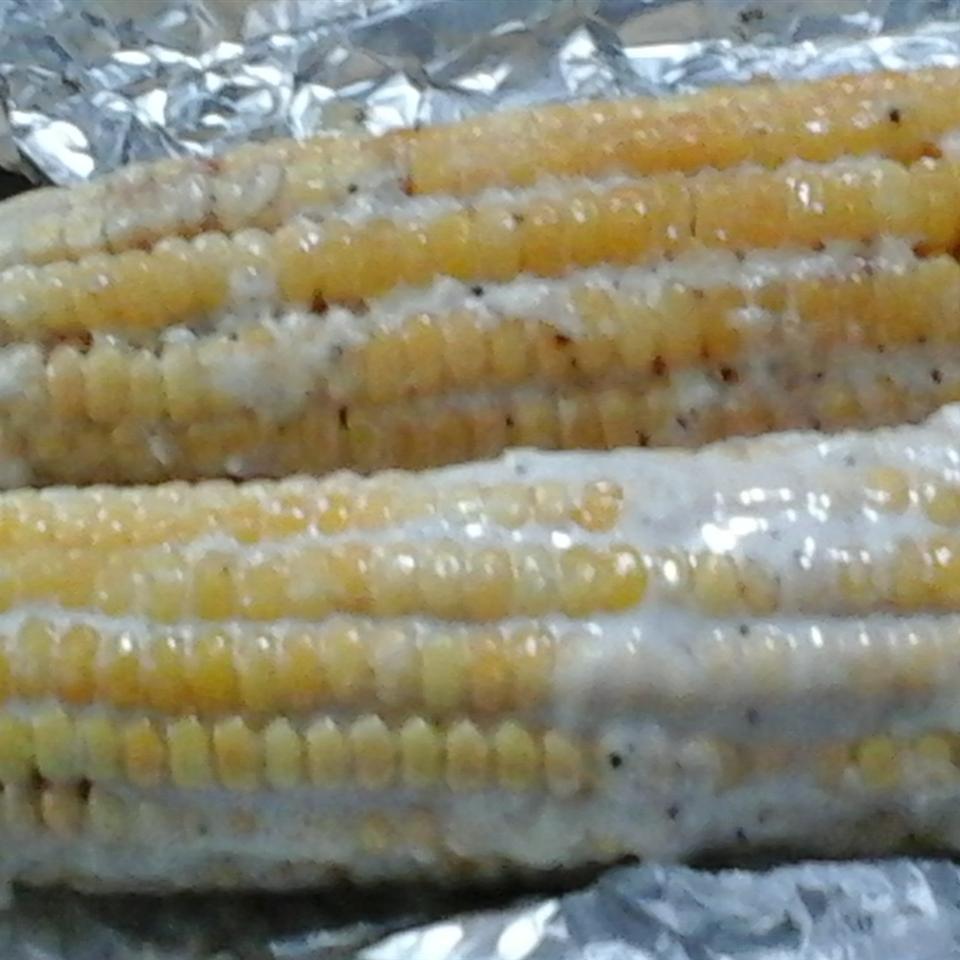 Oven Roasted Parmesan Corn on the Cob Shadha Ali