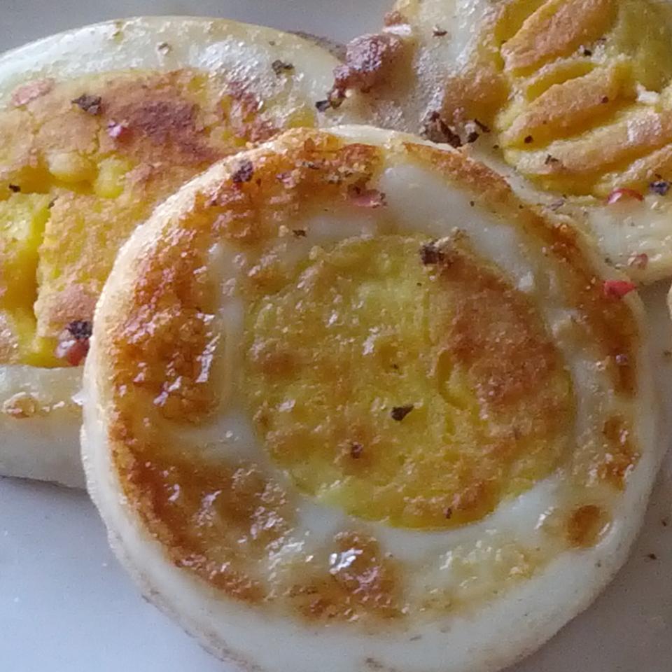Fried Boiled Eggs