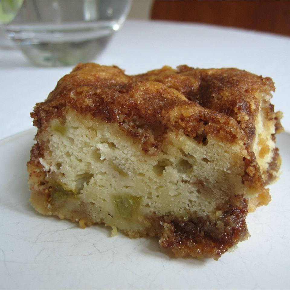 Rhubarb Cake I Barb Oke