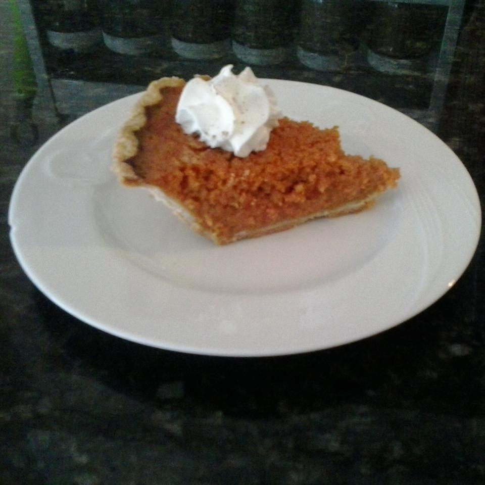 Honey Carrot Pie the4taals
