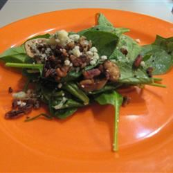 Hot Spinach Salad ORANGEMAN