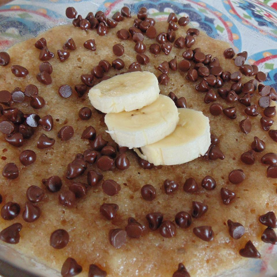 Microwave Banana Cake in a Bowl Christina