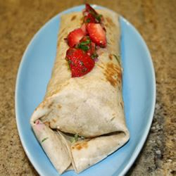 Spicy Turkey Wraps with Strawberry Salsa Allrecipes Trusted Brands