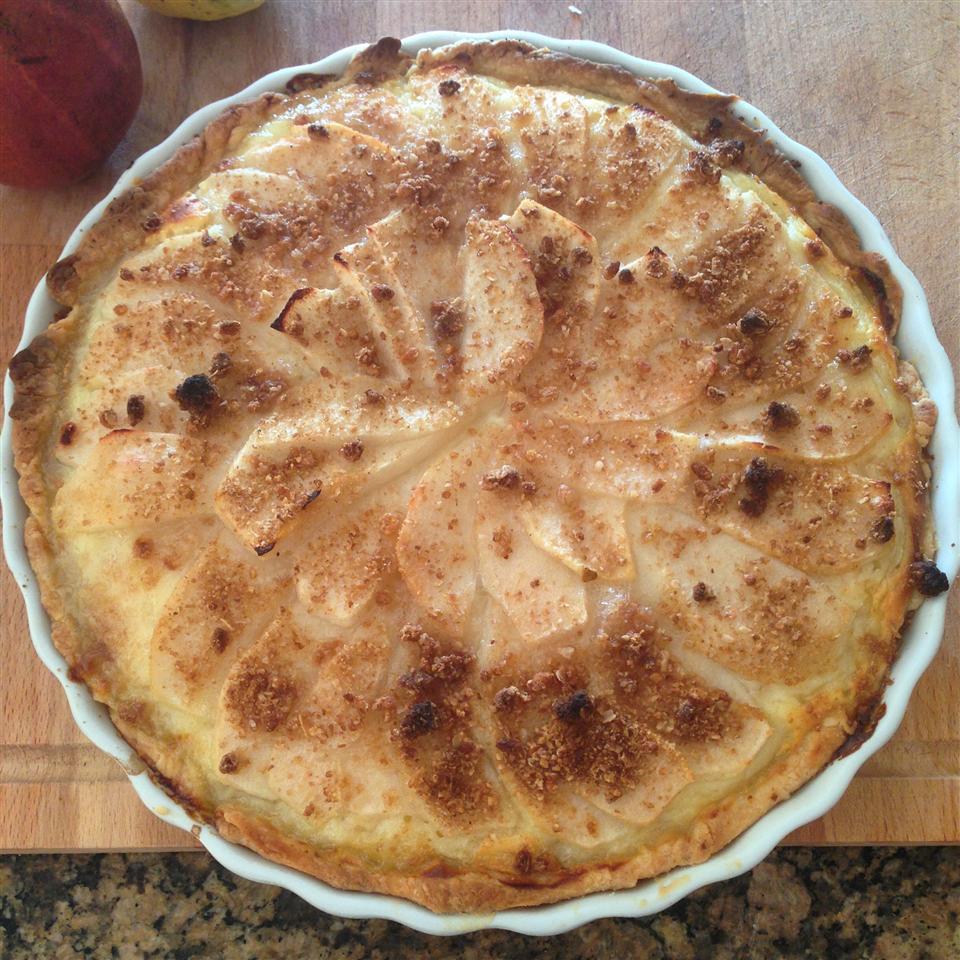Pear Sour Cream Pie andrea2212