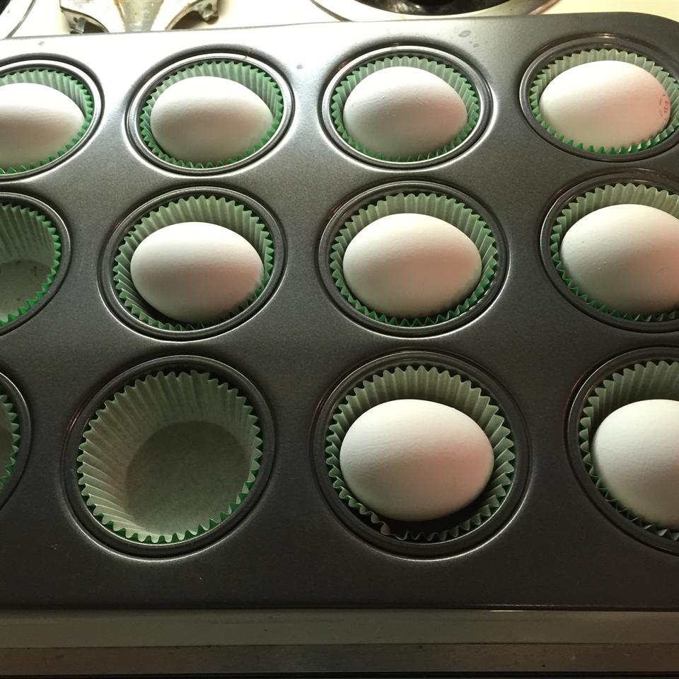 Hard Boiled Eggs in the Oven user