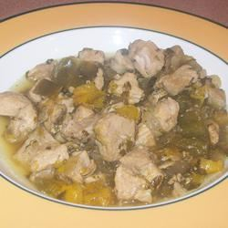 Bianca's Green Chile Pork gina brown