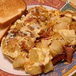 Bauernomlett (Farmer's Omelet)