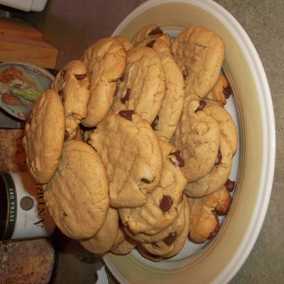 Chewy Peanut Butter Chocolate Chip Cookies Carol Anne