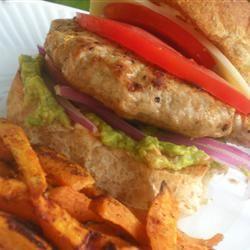 Travis's Turkey Burgers with a Bite Jillian Kuhlmann