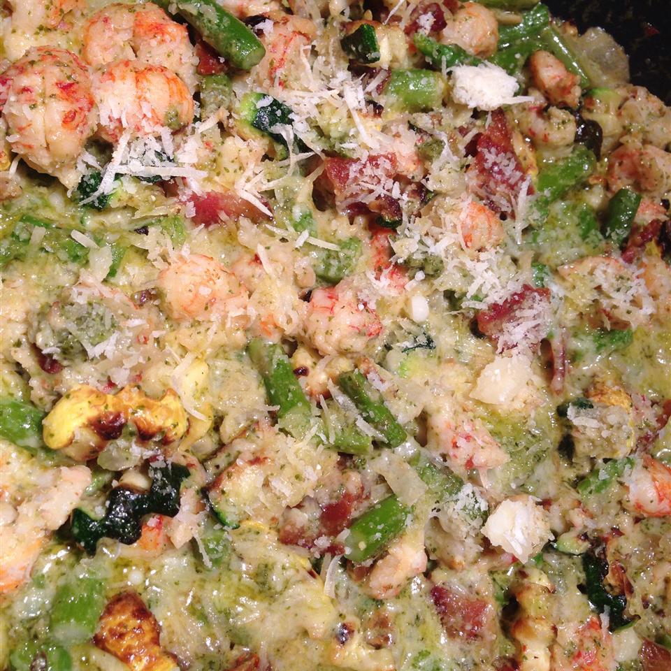 Amazing Shrimp and Langostino Lobster Linguine Susan Walker Cooper