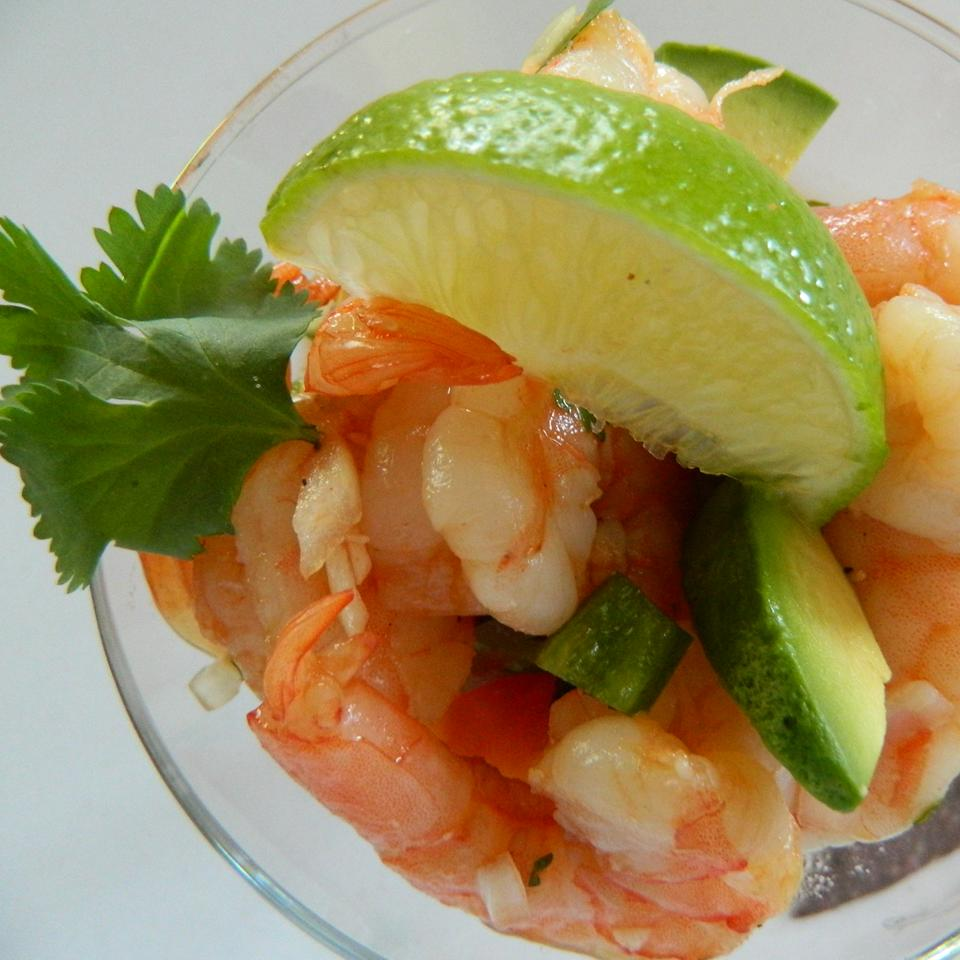 Spicy Mexican Shrimp Cocktail