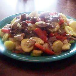 Garden Chicken Stir Fry Glenda Stewart Burianek