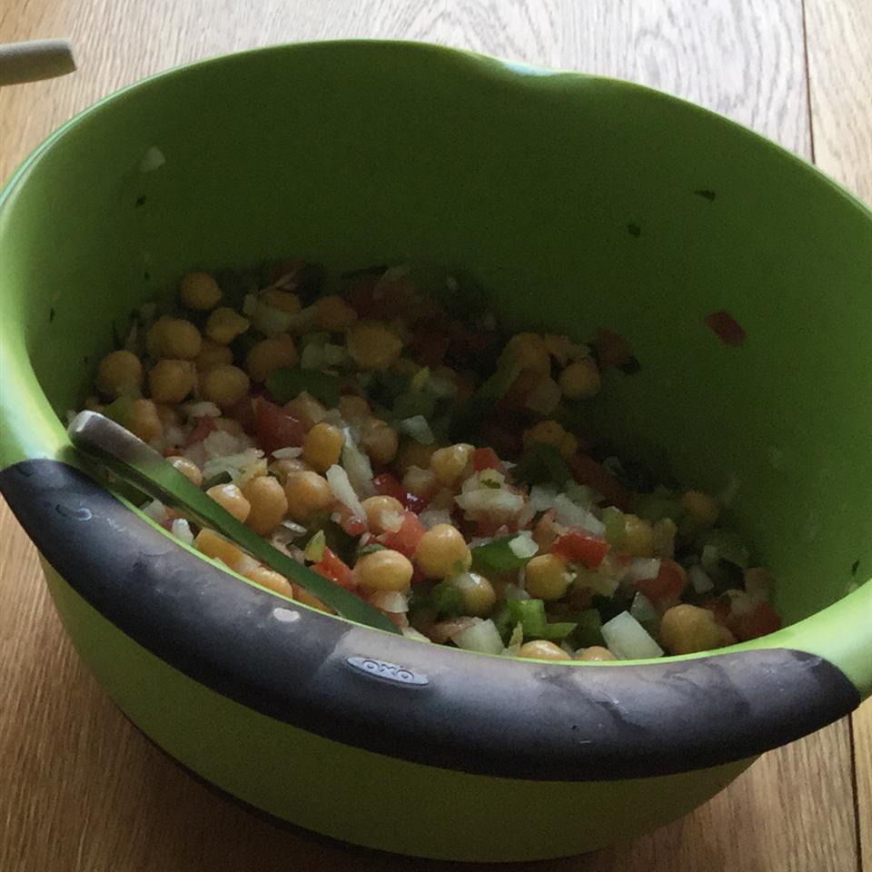 Mediterranean Chickpea Salad II Kristy H
