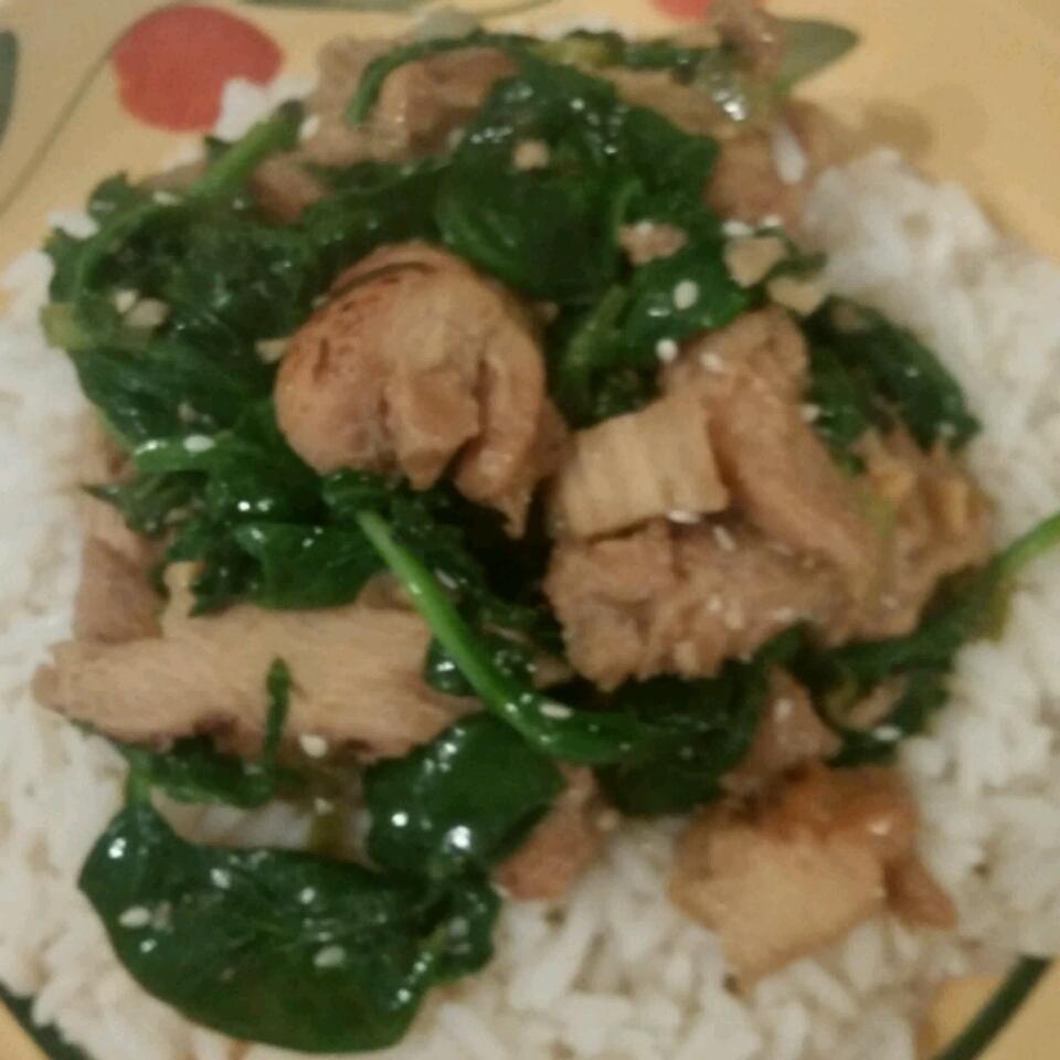 Myra's Basil Chicken Stir Fry Joni Arnold