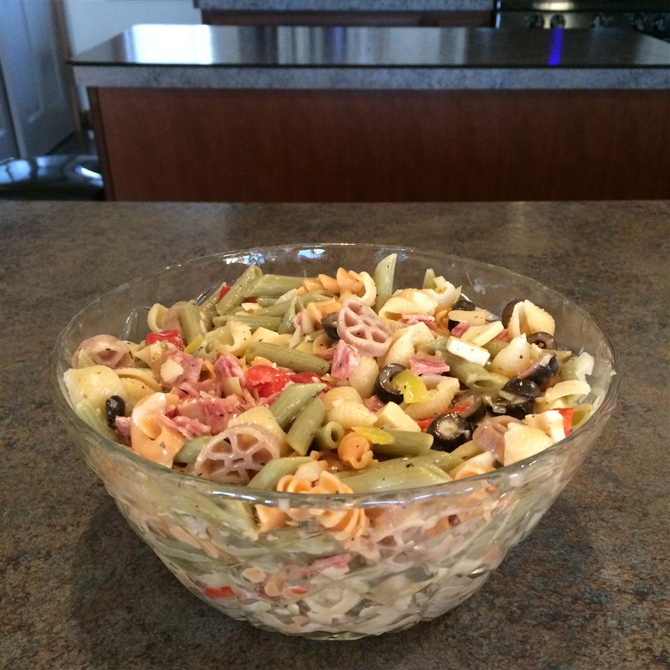 Pasta Salad a la Honeybear splatka